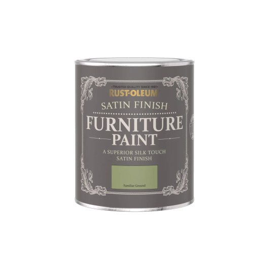 Rust-Oleum Satin Furniture Paint Familiar Ground 750ml
