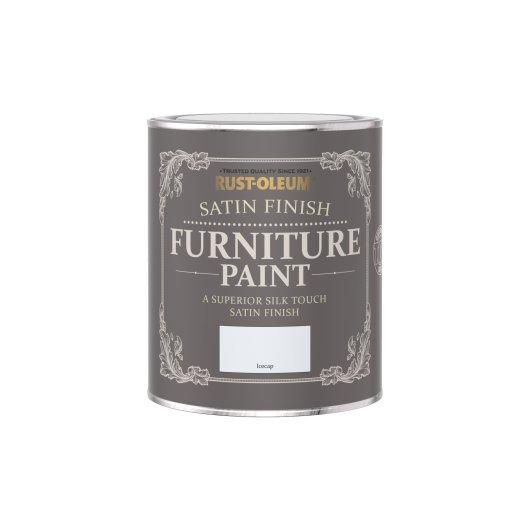 Rust-Oleum Satin Furniture Paint Icecap 750ml