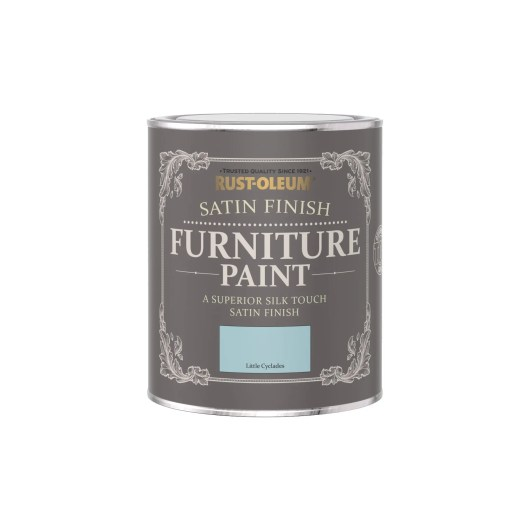 Rust-Oleum Satin Furniture Paint Little Cyclades 750ml