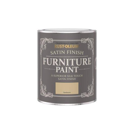 Rust-Oleum Satin Furniture Paint Sandstorm 750ml