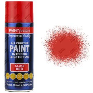 1-x-400ml-All-Purpose-Red-Gloss-Aerosol-Spray-Paint-Household-Car-Plastic-331938623602