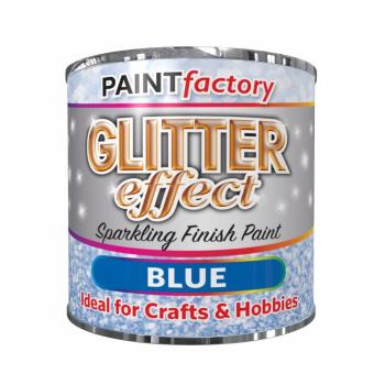 Blue-Glitter-Effect-Colour-Brush-Paint-Decorative-Creative-Crafts-125ml-332699727859