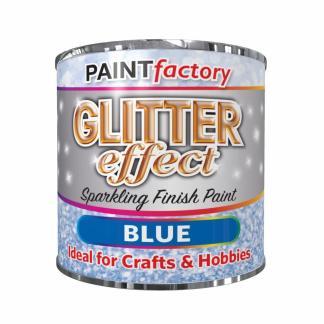 Blue-Glitter-Effect-Colour-Brush-Paint-Decorative-Creative-Crafts-125ml-332699727859