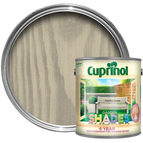 Cuprinol-6Y-Garden-Shades-Paint-Wood-Furniture-Sheds-Fences-25L-Country-Cream-332591837992