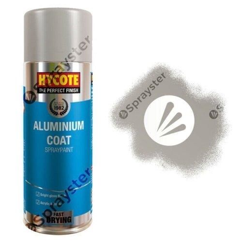 Hycote-Aluminium-Coat-Spray-Paint-Aerosol-Auto-Car-Multi-Purpose-400ml-XUK035-333189601444