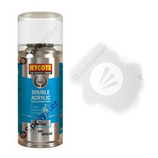 Hycote-Audi-Silver-5B-Metallic-Spray-Paint-Enviro-Can-All-Purpose-XDAD405-372675426633