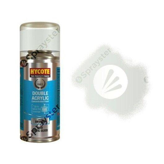 Hycote-BMW-Arctic-Silver-Metallic-Spray-Paint-Enviro-Can-All-Purpose-XDBM402-392301750915