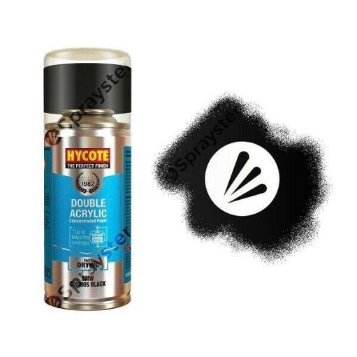 Hycote-BMW-Cosmos-Black-Metallic-Spray-Paint-Enviro-Can-All-Purpose-XDBM404-333214947804