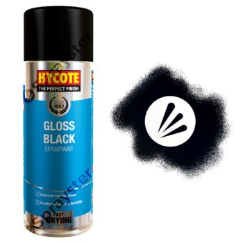 Hycote-Black-Gloss-Spray-Paint-Aerosol-Auto-Car-Multi-Purpose-400ml-XUK0272-333189555922