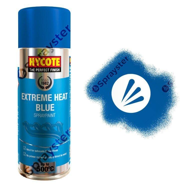 Hycote Blue Extreme Heat Vht Spray Paint 500 C 400ml Sprayster