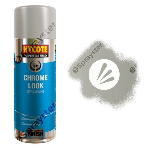 Hycote-Chrome-Look-Gloss-Spray-Paint-Aerosol-Auto-All-Purpose-400ml-XUK477-333195287033