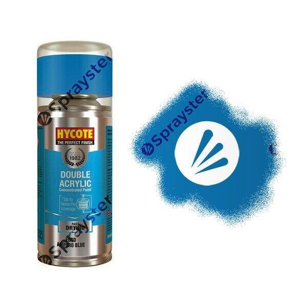Hycote-Ford-Amparo-Blue-Metallic-Spray-Paint-Enviro-Can-All-Purpose-XDFD235-372687396946
