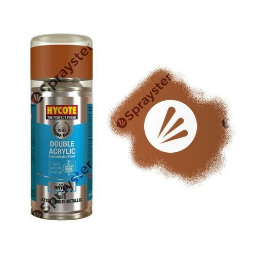 Hycote-Ford-Aztec-Bronze-Metallic-Spray-Paint-Enviro-Can-All-Purpose-XDFD101-333221910794