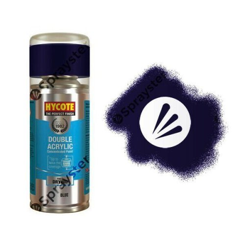 Hycote-Ford-Java-Blue-Metallic-Spray-Paint-Enviro-Can-All-Purpose-XDFD230-392309851802