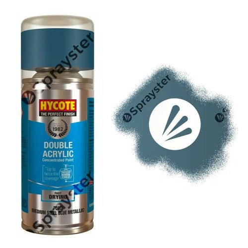Hycote-Ford-Medium-Steel-Blue-Metallic-Spray-Paint-Enviro-Can-XDFD249-333247123780