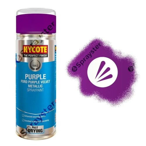Hycote-Ford-Purple-Velvet-Metallic-Spray-Paint-Auto-Multi-Purpose-400ml-XUK1024-392297912282