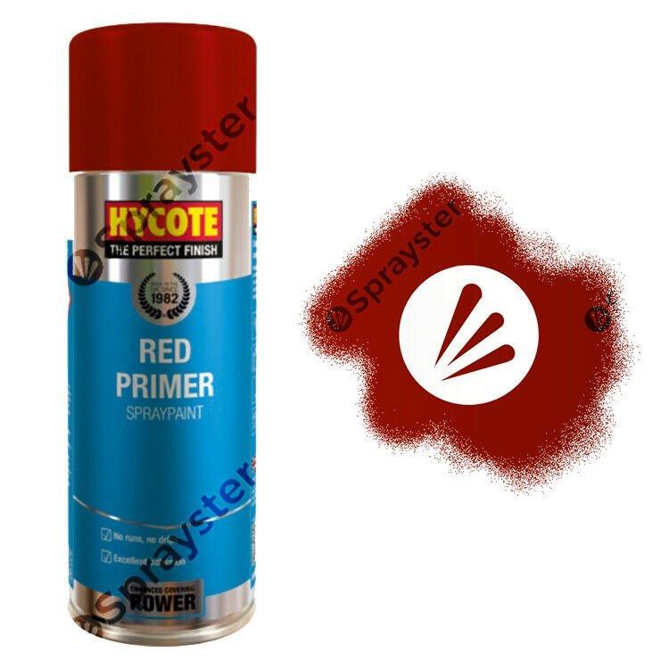 Hycote-Red-Primer-Spray-Paint-Aerosol-Auto-Car-Multi-Purpose-400ml-XUK0303-333189581396