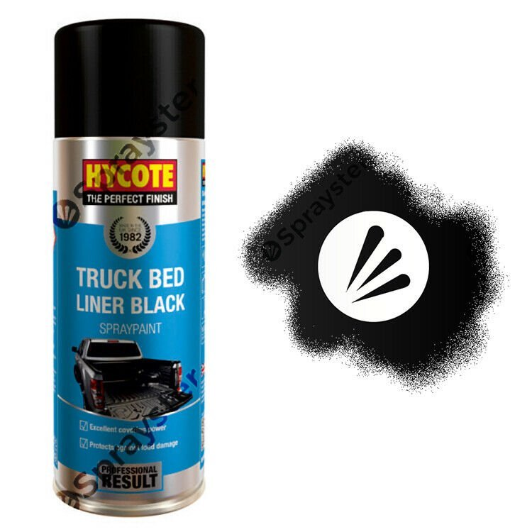 Hycote Truck Bed Liner Black Spray Paint 400ml