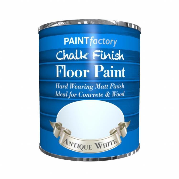 Paint-Factory-Chalk-Chalky-Floor-Paint-650ml-Antique-White-Matt-392067859972