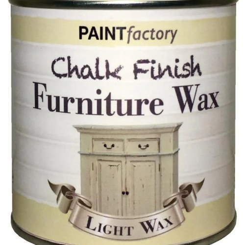 Paint-Factory-Chalky-Furniture-Wax-Shabby-Chic-200ml-Clear-Light-Wax-391881698726