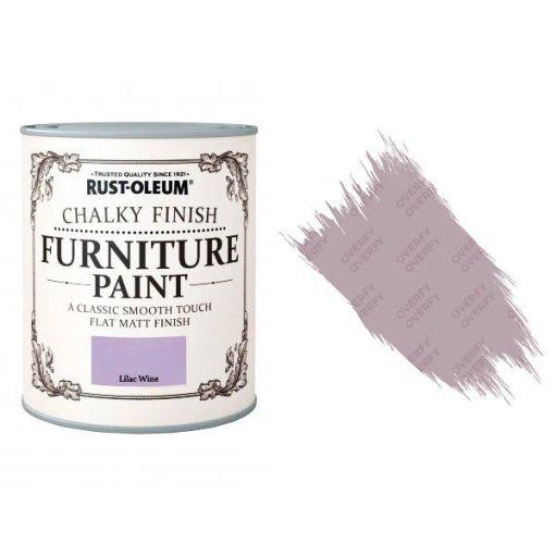 Rust-Oleum-Chalk-Chalky-Furniture-Paint-Chic-Shabby-125ml-Lilac-Wine-Matt-371594510783
