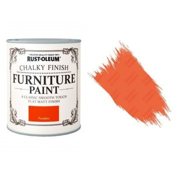Rust-Oleum-Chalk-Chalky-Furniture-Paint-Chic-Shabby-125ml-Pumpkin-Matt-391428357610