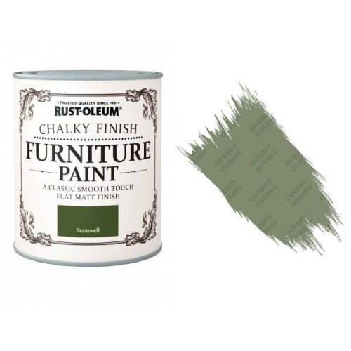 Rust-Oleum-Chalk-Chalky-Furniture-Paint-Chic-Shabby-750ml-Bramwell-Matt-331825035126