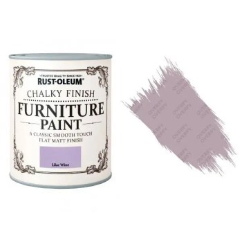 Rust-Oleum-Chalk-Chalky-Furniture-Paint-Chic-Shabby-750ml-Lilac-Wine-Matt-391428379047