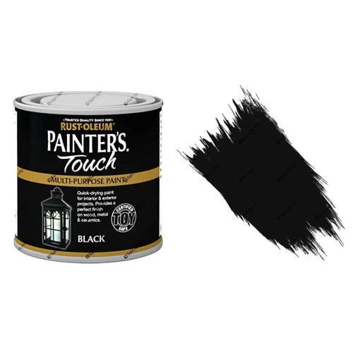 Rust-Oleum-Painters-Touch-Multi-Surface-Paint-Black-Gloss-250ml-Toy-Safe-372237507967