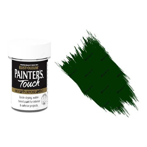 Rust-Oleum-Painters-Touch-Multi-Surface-Paint-Dark-Green-Gloss-20ml-Toy-Safe-332579962227