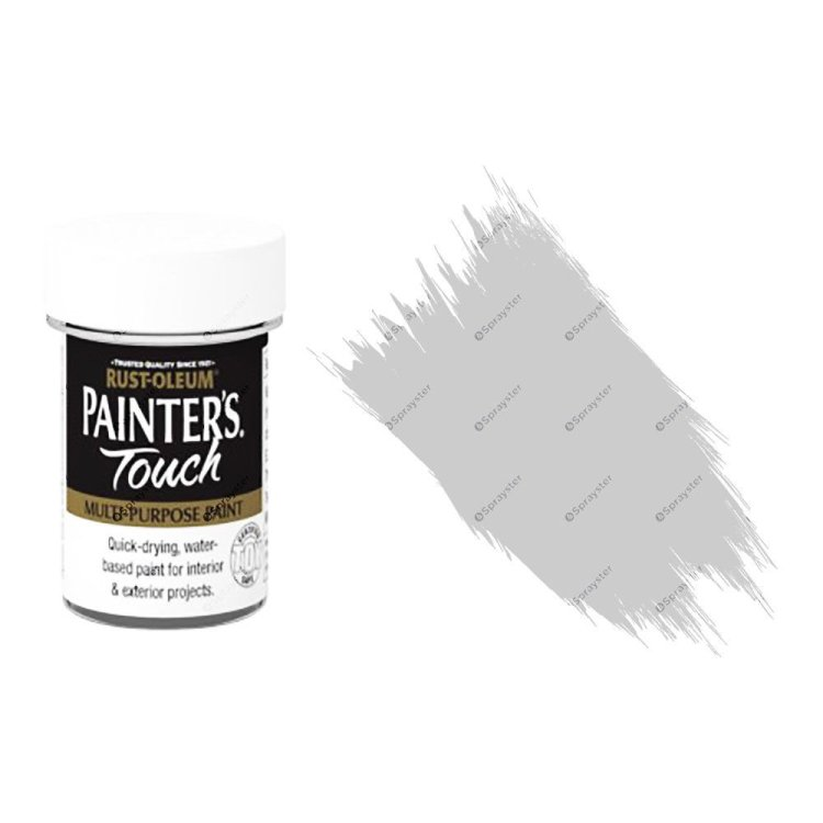 Rust-Oleum-Painters-Touch-Multi-Surface-Paint-Light-Grey-Gloss-20ml-Toy-Safe-332579962228