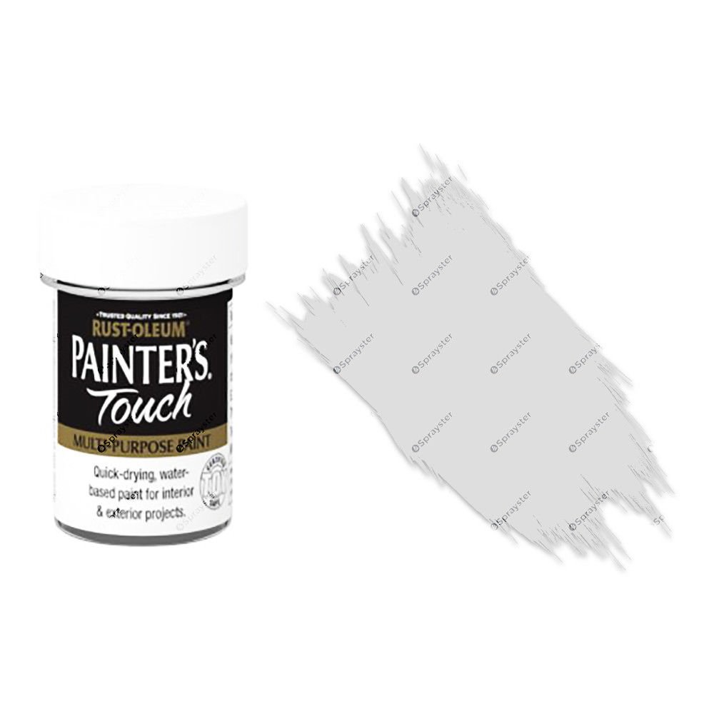 Rust-Oleum-Painters-Touch-Multi-Surface-Paint-Metallic-Silver-20ml-Toy-Safe-332579962210