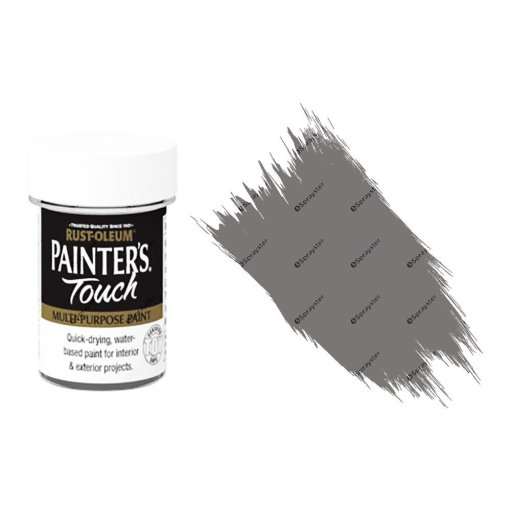 Rust-Oleum-Painters-Touch-Multi-Surface-Paint-Pewter-Metallic-20ml-Toy-Safe-391996255767
