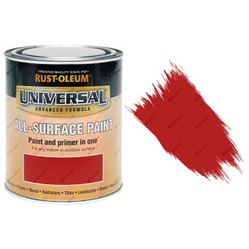 Rust-Oleum-Universal-All-Surface-Self-Prime-Brush-Paint-Gloss-Cardinal-Red-250ml-391986702351