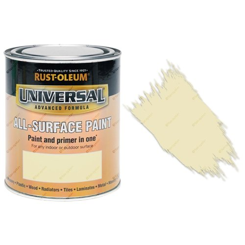 Rust-Oleum-Universal-All-Surface-Self-Primer-Brush-Paint-Gloss-Real-Almond-750ml-372229316268