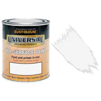 Rust-Oleum-Universal-All-Surface-Self-Primer-Brush-Paint-Matt-White-750ml-391985923831