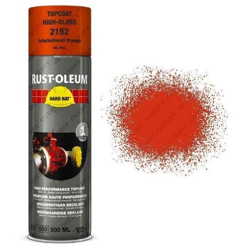 Industrial-Rust-Oleum-International-Orange-Spray-Paint-Hard-Hat-500ml-RAL2002