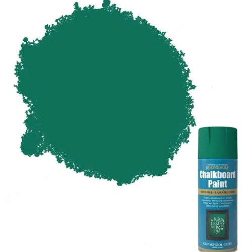 x1-Rust-Oleum-Blackboard-Chalkboard-Aerosol-Spray-Paint-Old-School-Green-Matt-391903398577