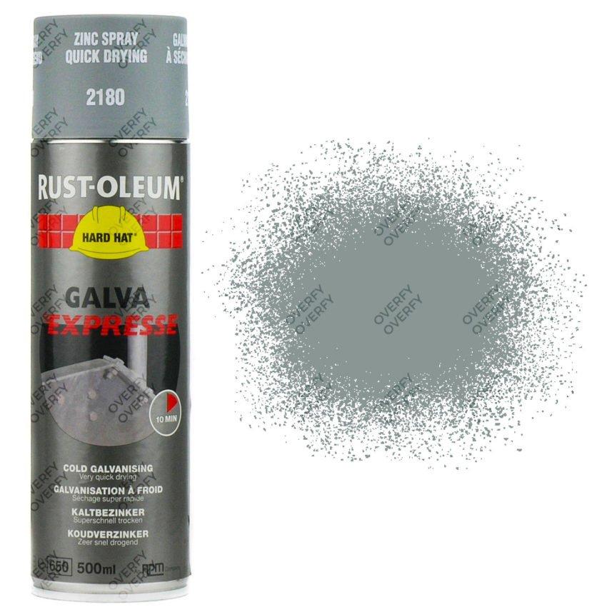 Rust-Oleum Galva Expresse Matt Grey Zinc 2180 Hard Hat