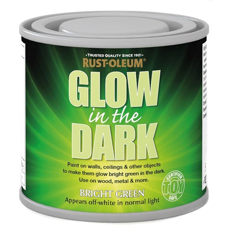 x1-Rust-Oleum-Glow-In-The-Dark-Luminous-Bright-Green-Toy-Safe-Brush-Paint-125ml-372280716922
