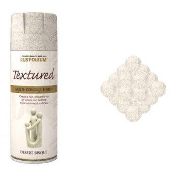 Rust-Oleum Desert Bisque Grey Textured Spray Paint 400ml