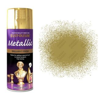 x1-Rust-Oleum-Multi-Purpose-Premium-Spray-Paint-400ml-Metallic-Bright-Gold-331782475831