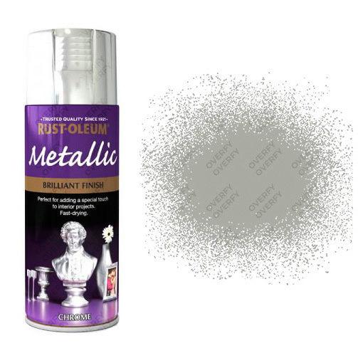 x1-Rust-Oleum-Multi-Purpose-Premium-Spray-Paint-Indoor-Outdoor-Metallic-Chrome-331782475852