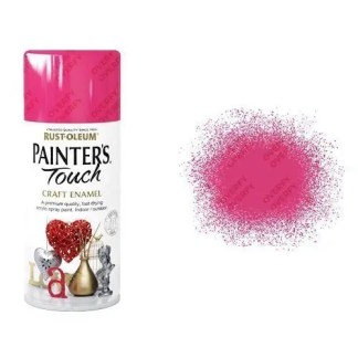 Rust-Oleum Blossom Pink Gloss Spray Paint Painter's Touch Craft Enamel 150ml