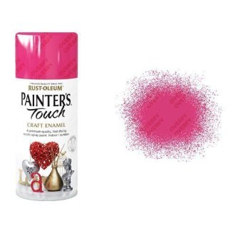Rust-Oleum Blossom Pink Gloss Spray Paint Painter's Touch Craft Enamel 150ml