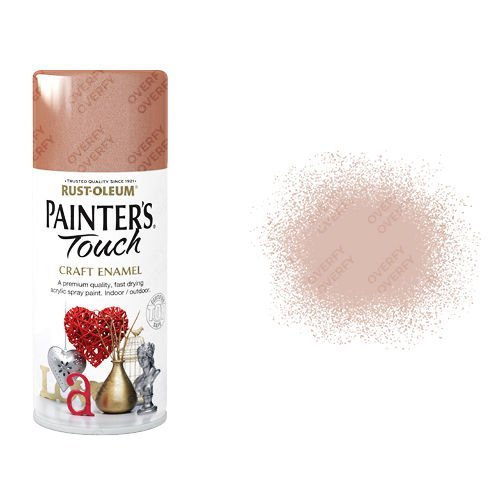 Rust-Oleum Copper Metallic Spray Paint Painter's Touch Craft Enamel 150ml