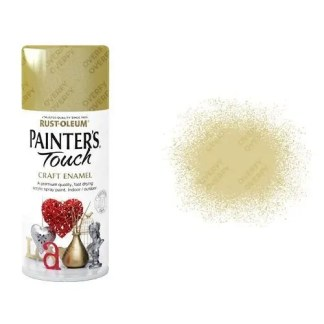 Rust-Oleum Gold Metallic Spray Paint Painter's Touch Craft Enamel 150ml