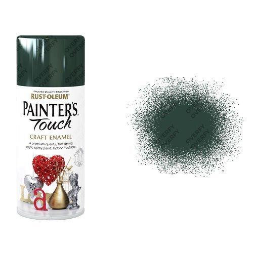 Rust-Oleum Oxford Green Gloss Spray Paint Painter's Touch Craft Enamel 150ml