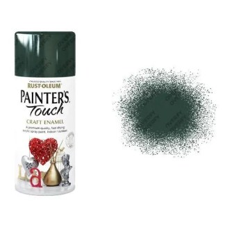 Rust-Oleum Oxford Green Gloss Spray Paint Painter's Touch Craft Enamel 150ml