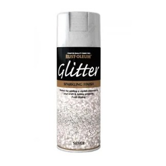 x1-Rust-Oleum-Sparkling-Silver-Glitter-Aerosol-Spray-Paint-Clear-Sealant-Coat-391389503022